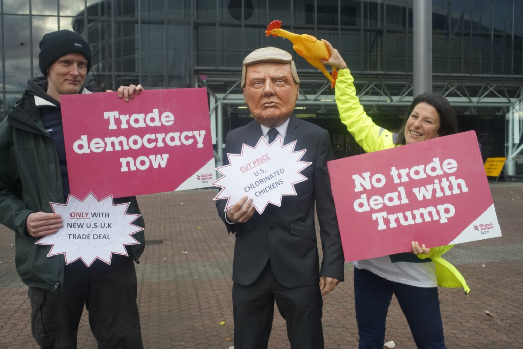 No trade deal with Trump